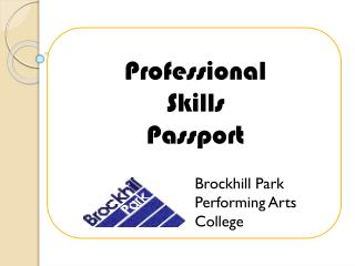 Professional Skills Passport