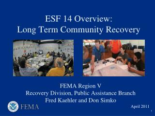 ESF 14 Overview: Long Term Community Recovery