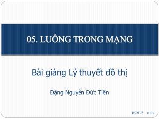 05. LUỒNG TRONG MẠNG