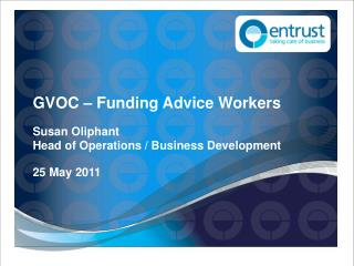 GVOC – Funding Advice Workers