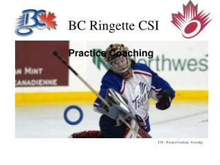 BC Ringette CSI