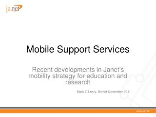 Mobile Support Services