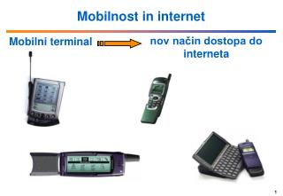 Mobilnost in internet