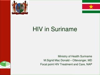 HIV in Suriname
