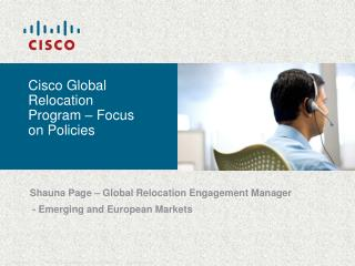 Cisco Global Relocation Program – Focus on Policies