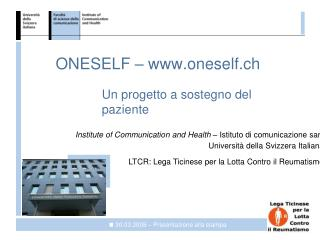 ONESELF – oneself.ch