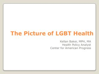 The Picture of LGBT Health
