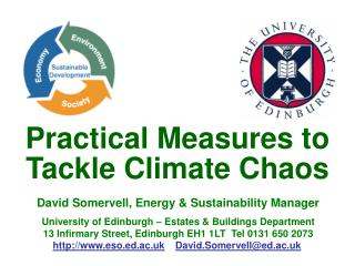 Practical Measures to Tackle Climate Chaos