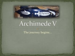 Archimede  V