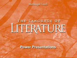 Reacting to a literary work . . . From Reading to Writing Stories such as  The Scarlet Ibis  by James Hurst and poems su