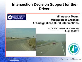 Intersection Decision Support for the Driver