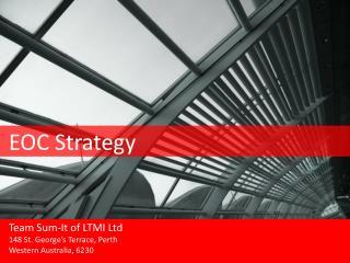 EOC Strategy