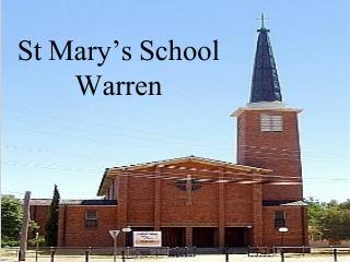 St Mary's School Warren