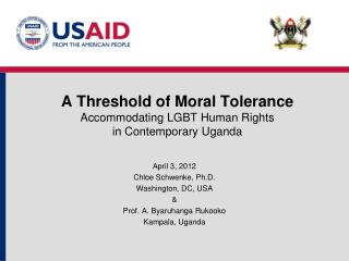 A Threshold of Moral Tolerance Accommodating LGBT Human Rights  in Contemporary Uganda