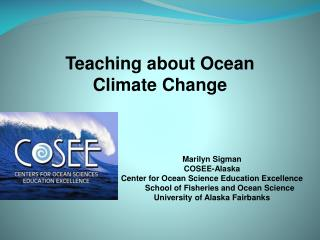 Teaching about Ocean Climate Change