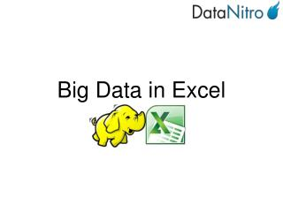 Big Data in Excel