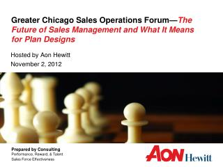 Hosted by Aon Hewitt November 2, 2012