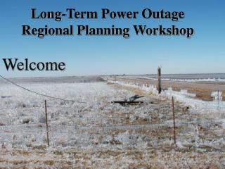Long-Term Power Outage Regional Planning Workshop