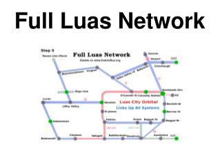 Full Luas Network