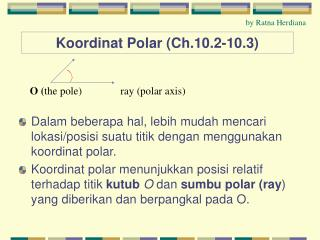 Koordinat Polar (Ch.10.2-10.3)