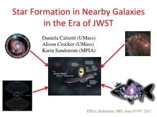 Star Formation in Nearby Galaxies  in the Era of JWST