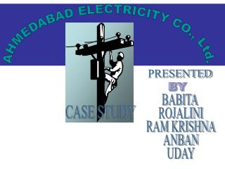 AHMEDABAD ELECTRICITY CO., Ltd.