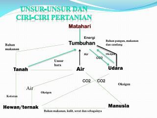 Unsur-unsur dan ciri-ciri pertanian