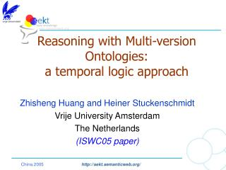 Reasoning with Multi-version Ontologies:  a temporal logic approach