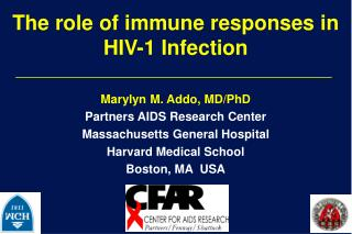 The role of immune responses in HIV-1 Infection
