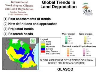 Global Trends in Land Degradation