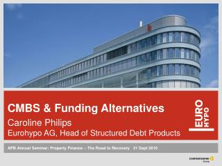 APB Annual Seminar: Property Finance – The Road to Recovery ‌  21 Sept 2010