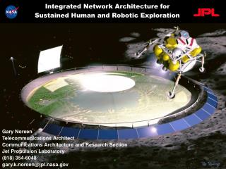 Integrated Network Architecture for Sustained Human and Robotic Exploration