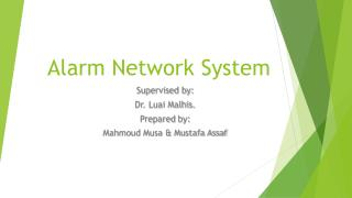 Alarm Network System