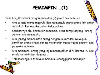 PEMIMPIN …(1)