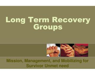 Long Term Recovery Groups
