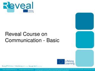Reveal Course on Communication - Basic