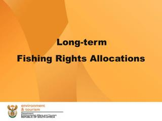 Long-term  Fishing Rights Allocations