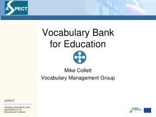 Vocabulary Bank for Education
