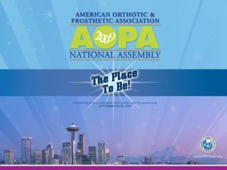 2009 AOPA Assembly Top Ten Presentation