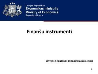 Finanšu instrumenti