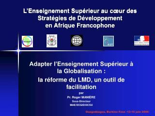 L Enseignement Sup rieur au c ur des Strat gies de D veloppement  en Afrique Francophone