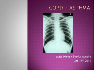 COPD + ASTHMA