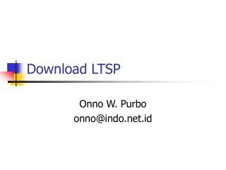 Download LTSP