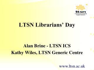 LTSN Librarians' Day