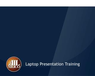 Laptop Presentation Training