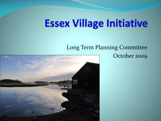 Essex Village Initiative