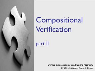 Compositional Verification part II