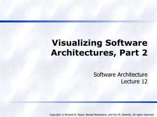 Visualizing Software Architectures, Part 2