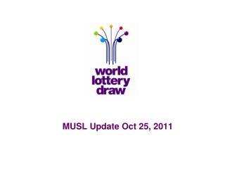 MUSL Update Oct 25, 2011