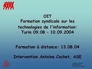 Structure de l �intervention